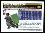 1996 Topps #195  Dante Bichette  Back Thumbnail