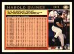 1997 Topps #46  Harold Baines  Back Thumbnail