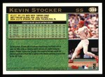 1997 Topps #384  Kevin Stocker  Back Thumbnail