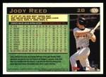 1997 Topps #109  Jody Reed  Back Thumbnail