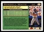 1997 Topps #331  Rondell White  Back Thumbnail