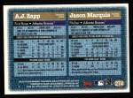 1997 Topps #274  Jason Marquis / A.J. Zapp  Back Thumbnail