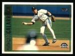 1997 Topps #10  Andres Galarraga  Front Thumbnail