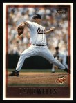 1997 Topps #228  David Wells  Front Thumbnail