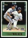 1997 Topps #461  Larry Walker  Front Thumbnail