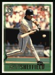 1997 Topps #264  Gary Sheffield  Front Thumbnail