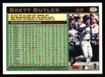1997 Topps #324  Brett Butler  Back Thumbnail