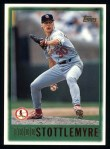 1997 Topps #437  Todd Stottlemyre  Front Thumbnail