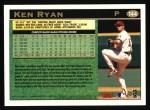 1997 Topps #144  Ken Ryan  Back Thumbnail