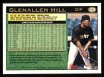 1997 Topps #221  Glenallen Hill  Back Thumbnail