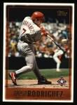 1997 Topps #340  Ivan Rodriguez  Front Thumbnail