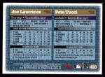 1997 Topps #480  Pete Tucci / Joe Lawrence  Back Thumbnail
