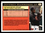 1997 Topps #438  Jeffrey Hammonds  Back Thumbnail