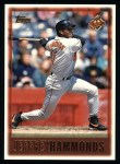 1997 Topps #438  Jeffrey Hammonds  Front Thumbnail