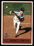 1997 Topps #399  Jeff Montgomery  Front Thumbnail