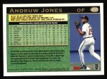 1997 Topps #455  Andruw Jones  Back Thumbnail