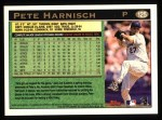 1997 Topps #125  Pete Harnisch  Back Thumbnail