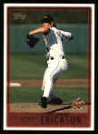 1997 Topps #347  Scott Erickson  Front Thumbnail