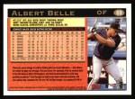 1997 Topps #69  Albert Belle  Back Thumbnail
