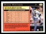 1997 Topps #323  Rick Krivda  Back Thumbnail
