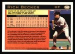 1997 Topps #148  Rich Becker  Back Thumbnail