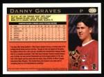 1997 Topps #286  Danny Graves  Back Thumbnail