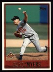1997 Topps #133  Randy Myers  Front Thumbnail