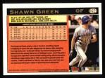 1997 Topps #214  Shawn Green  Back Thumbnail