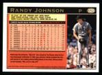 1997 Topps #325  Randy Johnson  Back Thumbnail