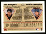 1997 Topps #469  Rod Barajas / Jackie Rexrode  Back Thumbnail