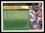 1997 Topps #87  Ray Lankford  Back Thumbnail