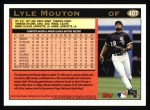 1997 Topps #407  Lyle Mouton  Back Thumbnail