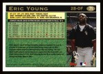 1997 Topps #71  Eric Young  Back Thumbnail