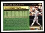 1997 Topps #390  Ryan Klesko  Back Thumbnail