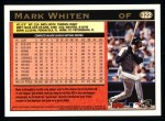 1997 Topps #322  Mark Whiten  Back Thumbnail