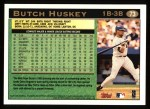 1997 Topps #73  Butch Huskey  Back Thumbnail