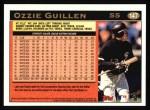 1997 Topps #147  Ozzie Guillen  Back Thumbnail