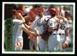 1997 Topps #451  Donovan Osborne  Front Thumbnail