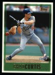1997 Topps #449  Chad Curtis  Front Thumbnail