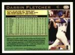 1997 Topps #265  Darrin Fletcher  Back Thumbnail