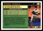 1997 Topps #68  Todd Jones  Back Thumbnail