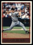 1997 Topps #156  Troy Percival  Front Thumbnail
