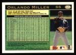 1997 Topps #255  Orlando Miller  Back Thumbnail