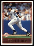 1997 Topps #411  Cecil Fielder  Front Thumbnail