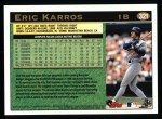 1997 Topps #321  Eric Karros  Back Thumbnail