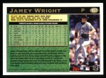 1997 Topps #107  Jamey Wright  Back Thumbnail