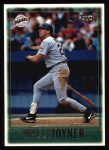 1997 Topps #132  Wally Joyner  Front Thumbnail