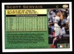 1997 Topps #284  Scott Servais  Back Thumbnail