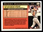 1997 Topps #258  Bobby Higginson  Back Thumbnail