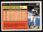 1997 Topps #55  Bip Roberts  Back Thumbnail